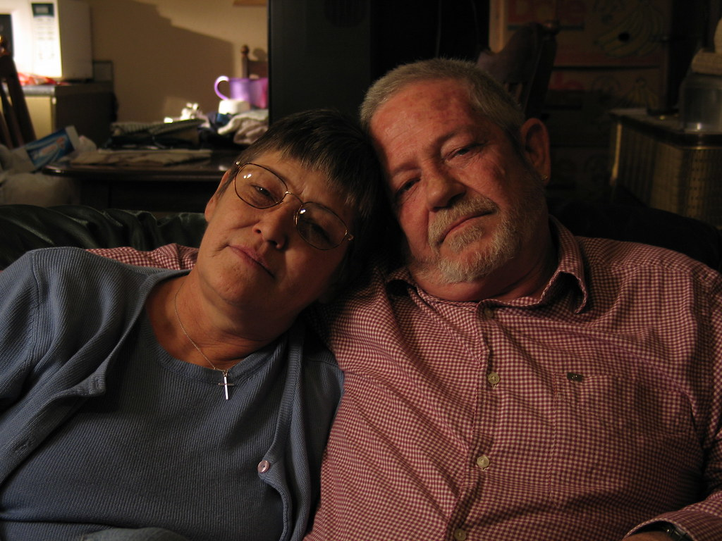 Ronnie Dove Comforts His Wife Karen Who Faces An Uphill