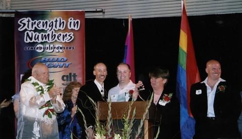San Diego LGBTQ Pride Rally, 2004