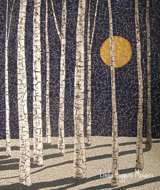 Winter Birches III