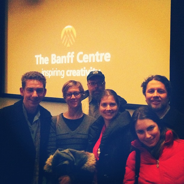 @megnut great meeting ya at @BanffMtnFests with rest of our @NOLS crew!