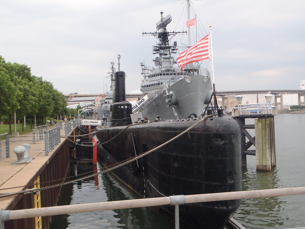uss croaker sub | the front of the uss croaker submarine