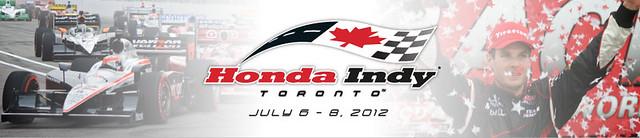 My shot used on Honda Indy Toronto website