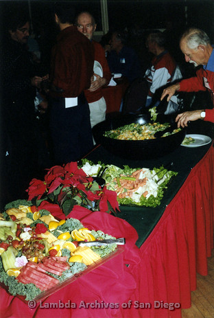 P040.011m.r.t SAGE General Meeting; buffet