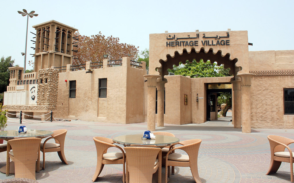 Heritage Village. Dubai.