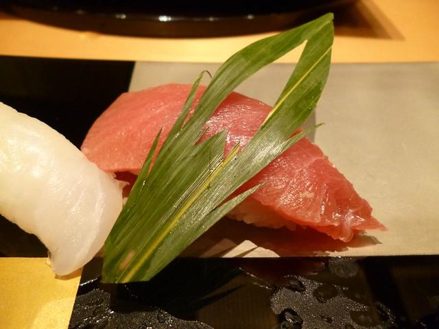 Fatty Tuna Sushi @Ginza Kyubey, Ginza, Tokyo