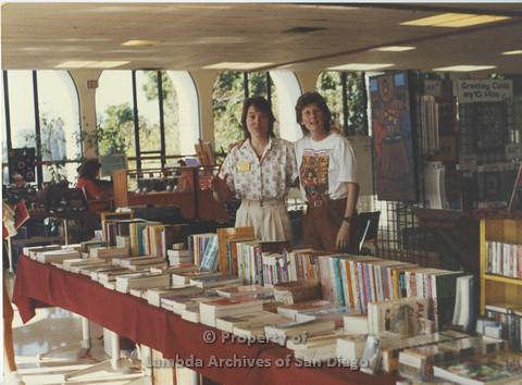 Lesbian Community Cultural Arts (LCCA), Cultural Weekends SDSU: Karen Merry (right)