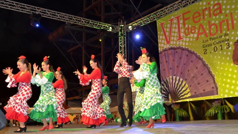 Escuela de Baile Ana Manrique VI Feria Abril 2013 Las Palmas de Gran Canaria DSC_0578