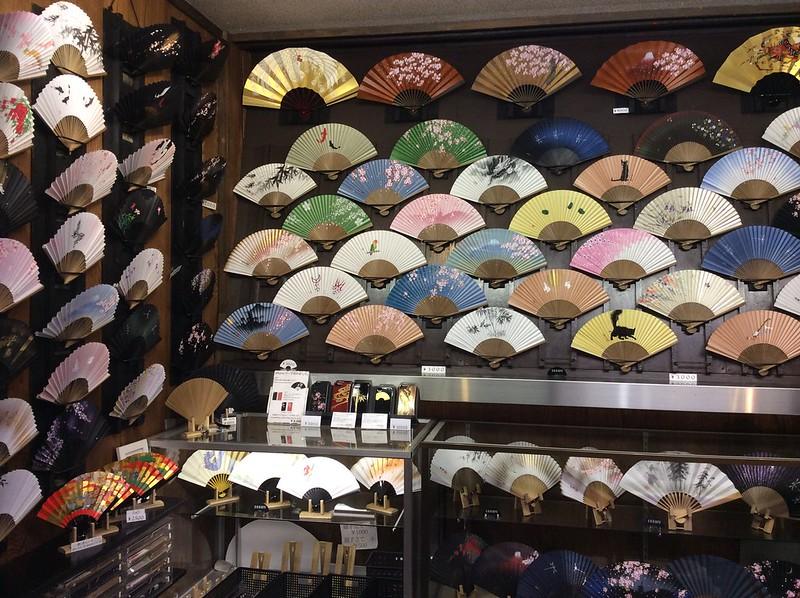 Fans at Nishiki Market