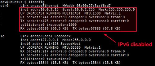 Disable IPv6 on Linux
