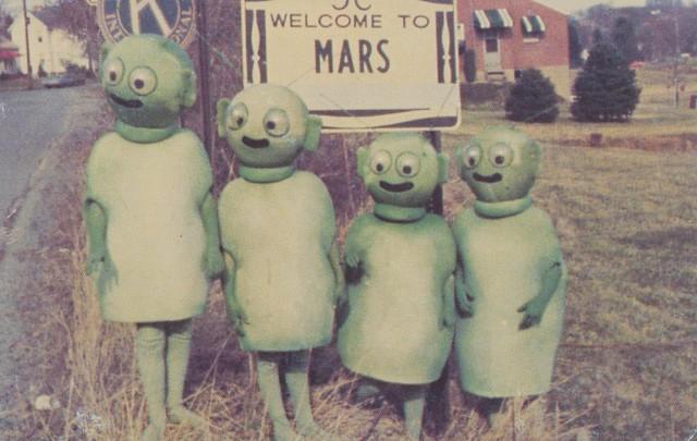 Welcome to Mars - Mars, Pennsylvania
