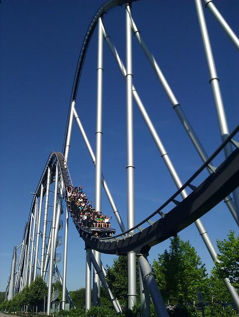 Roller coaster, Europa Park
