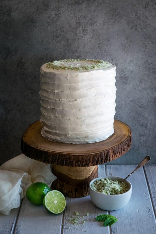 coconut mojito cake