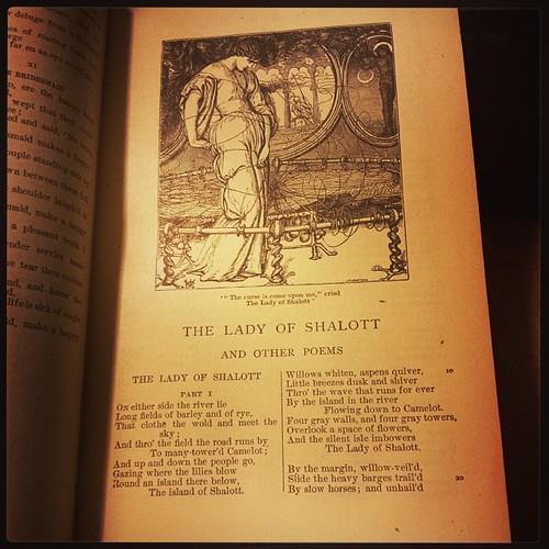 Favorite poem by my favorite poet. #Tennyson #poetry