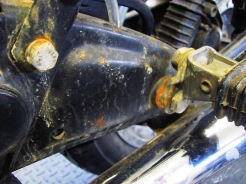 Left Frame Rust