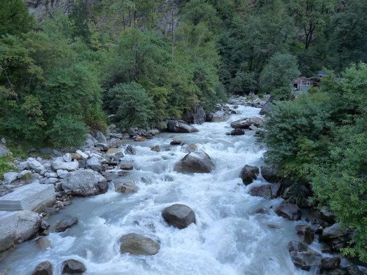 Badrinath River photo