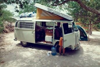 Camping at Isla Holbox
