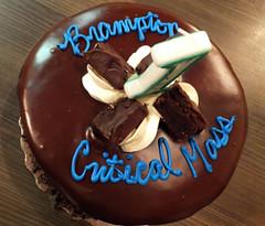 2015 01 Critical Mass 5 1st Anniv cake_300