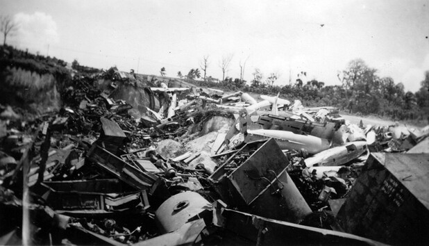 Tumon Bay Dump Site, 1946