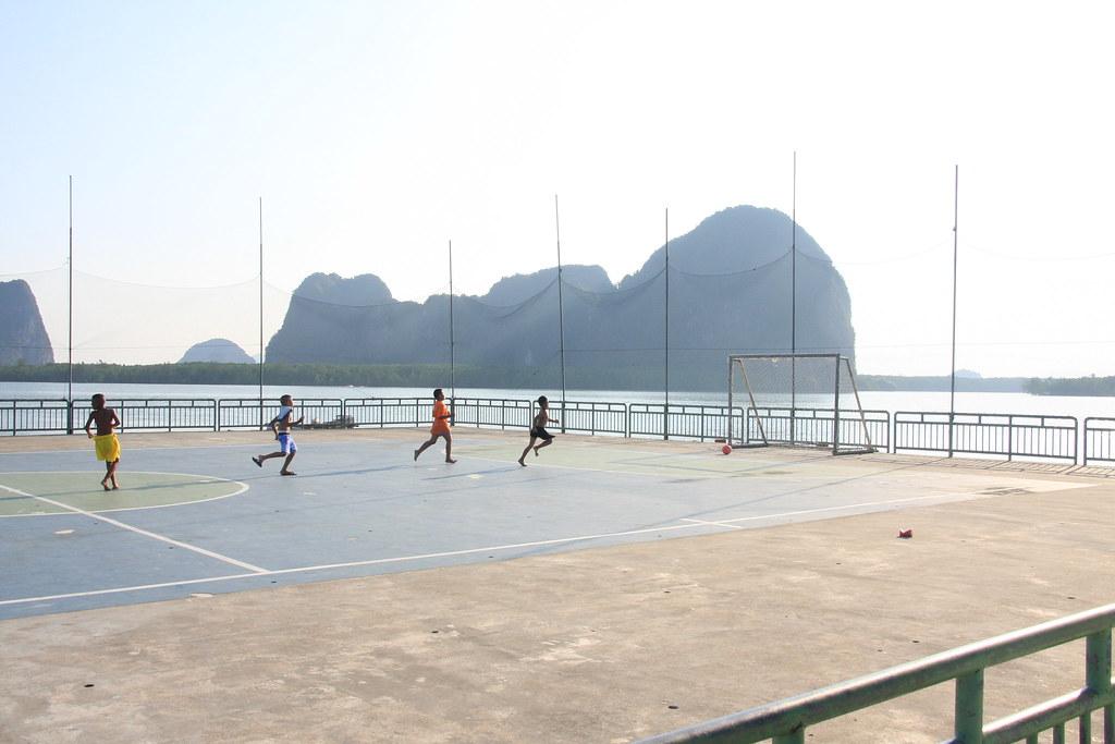 Football stadium, Ko Panyi - Phang Nga