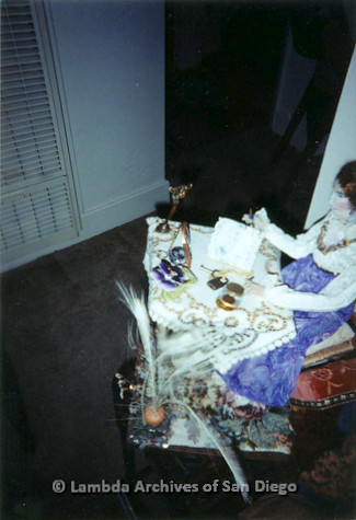 """P126.033m.r.t Muriel Fisher's: """"Doll"""" photographed in her apartment"""