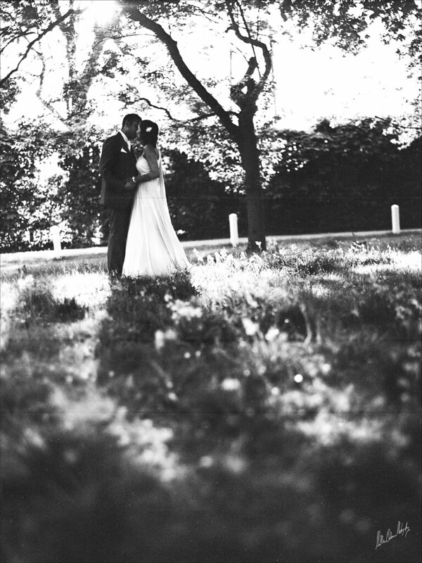 Black and White Wedding Photography - The Vintage Look