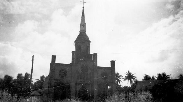 Inarajan Church, 1946