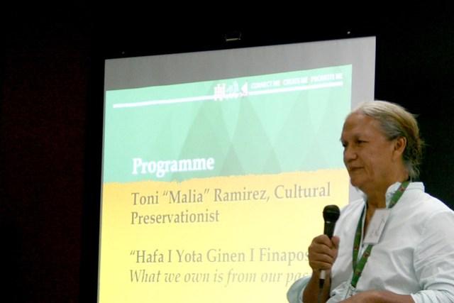 "Toni ""Malia"" Ramirez Presents at FestPac Workshop 1, 2014"