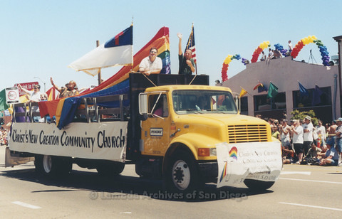 San Diego LGBTQ Pride Parade, 1999