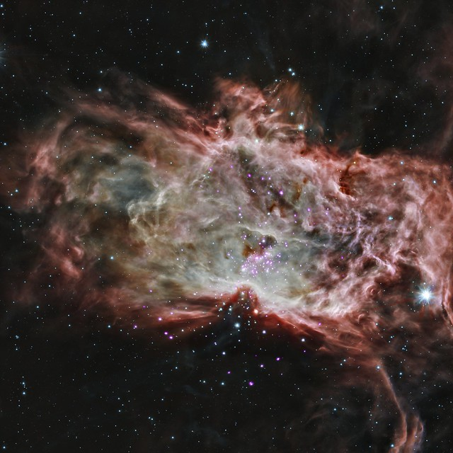 Inside the Flame Nebula (NASA, Chandra, 05/07/14)