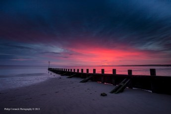 Sunrise at Portobello Beach