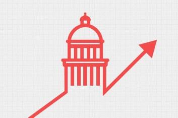 Polls - Polling - Election Politics | Up arrow indicating ri… | Flickr