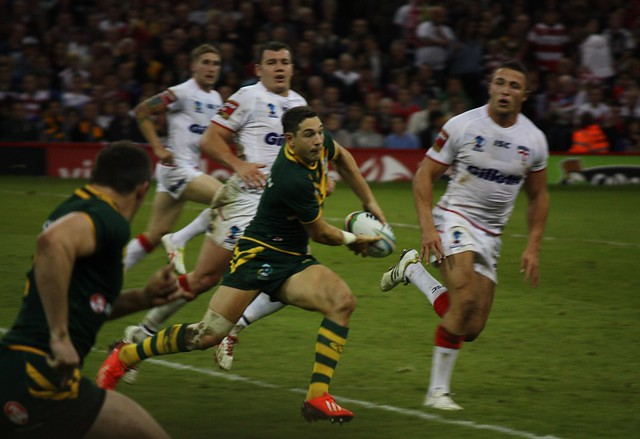 England v Australia, Rugby League World Cup
