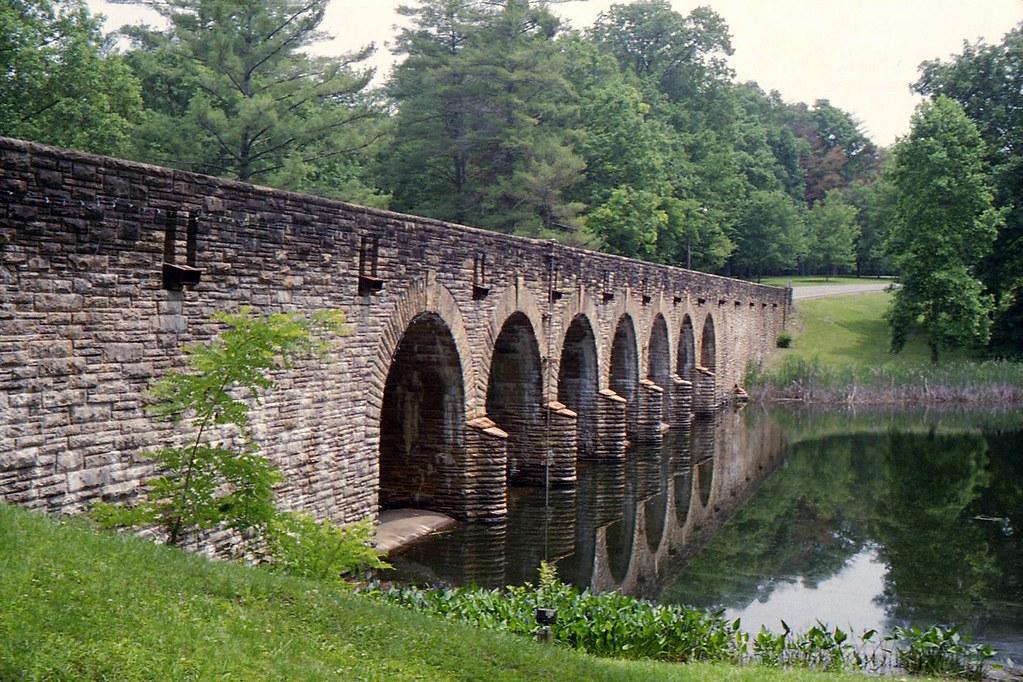 Bridge at Cumberland Mountain State Park