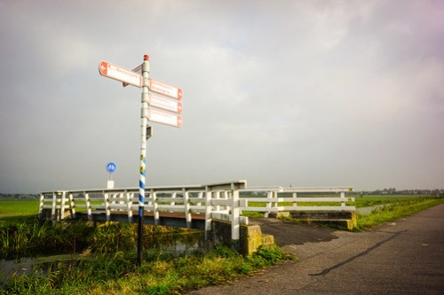 Dutch cycle signage