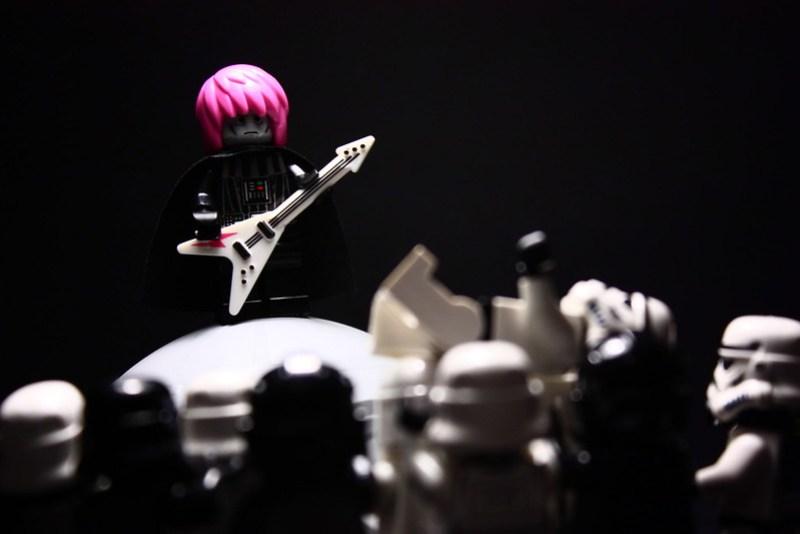 #2: Guitar Hero in a Glam Metal Band