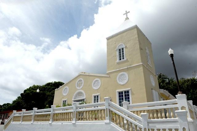 San Dionisio Church, Umatac 2014