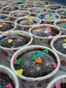 chocolate mud cup cake