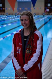 Nina Zweifel All Star Swimmer