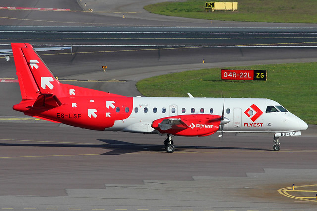ES-LSF   Saab 340A   Flyest (Airest)