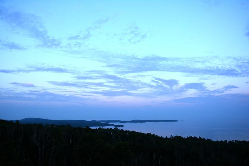 Minnesota North Shore twilight