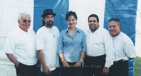 Backstage at San Diego LGBTQ Pride Festival, 1999