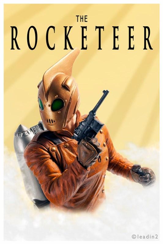 The Rocketeer | Mini Bust | Disney