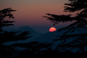Sunset at Chail