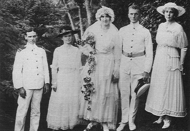 Eleanor Blain and Karl von Gebhard, 1917