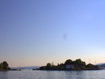 Tanking på Oksenøya 10. juli 2014