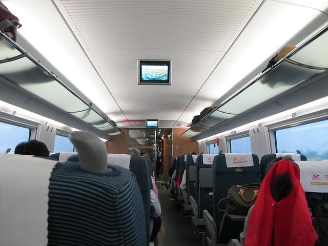 High speed train Hangzhou to Shanghai