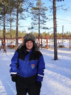 Woman meet Reindeer hat