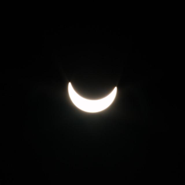 Penumbral solar eclipse