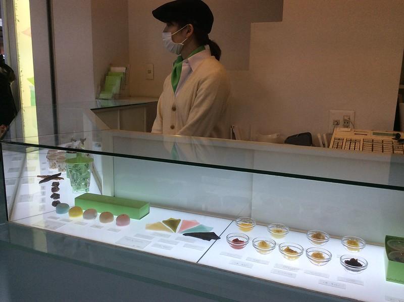 nikiniki, yatsuhashi shop