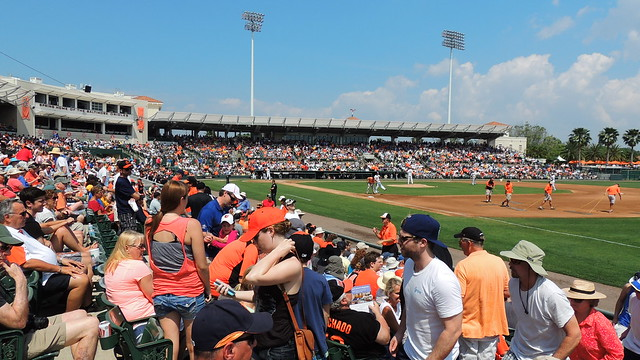 Pirate / Orioles Spring training game